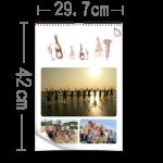 月曆直A3(萬年曆)